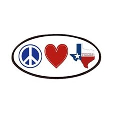 Peace Love Texas Patches