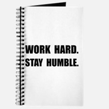 Work Hard Stay Humble Journal