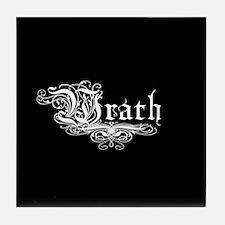 7 SIns Wrath Tile Coaster