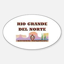 ABH Rio Grande del Norte Sticker (Oval)