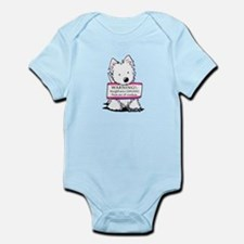 Vital Signs: NAUGHTY Infant Bodysuit