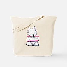 Vital Signs: NAUGHTY Tote Bag