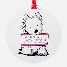 Vital Signs: NAUGHTY Ornament