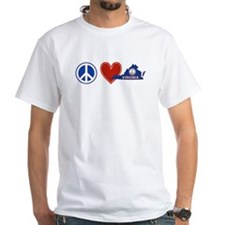 Peace Love Virginia Shirt