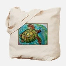 Sea turtle! Wildlife art! Tote Bag