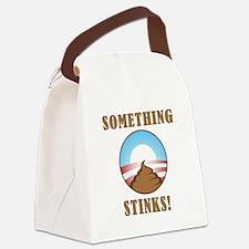 Anti Obama Something Stinks Canvas Lunch Bag