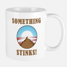 Anti Obama Something Stinks Mug
