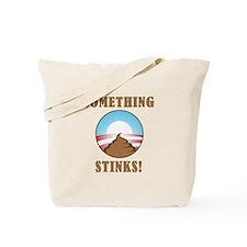 Anti Obama Something Stinks Tote Bag
