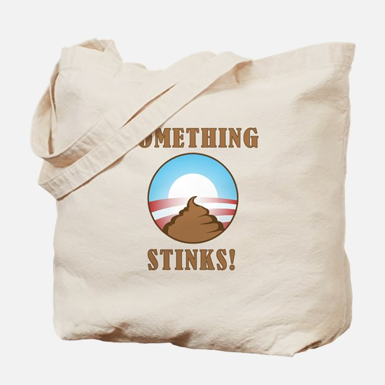 Anti Obama Something Stinks Tote Bag