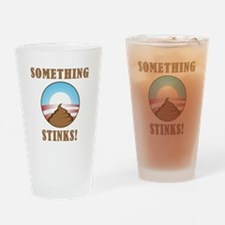 Anti Obama Something Stinks Drinking Glass
