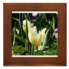 Beautiful Spring Flower Framed Tile