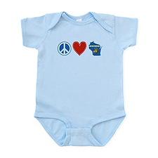 Peace Love Wisconsin Infant Bodysuit