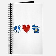Peace Love Wisconsin Journal