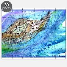 Sea Turtle, Wildlife art! Puzzle