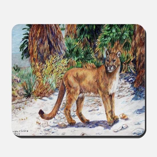 Desert Cougar Mousepad