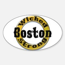 Wicked Strong Bruins Decal