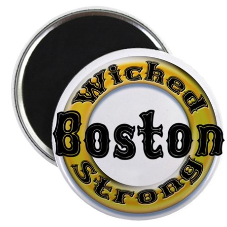 Wicked Strong Bruins Magnet