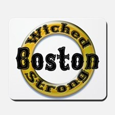 Wicked Strong Bruins Mousepad