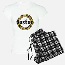 Wicked Strong Bruins Pajamas