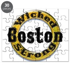 Wicked Strong Bruins Puzzle