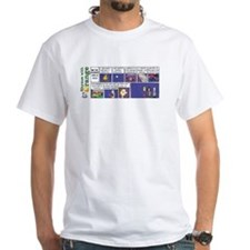 Why The Neighbors Hate Us White T-Shirt
