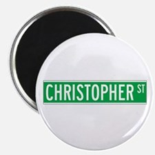 Christopher St., New York - USA Magnet