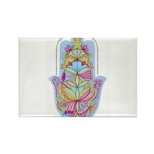 Home Bless Hamsa (hand) Hebrew+English, from artis