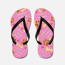 Cocker Spaniel Mom Gift Flip Flops