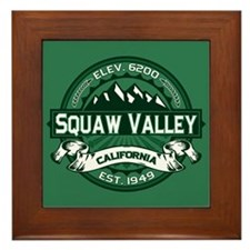 Squaw Valley Forest Framed Tile