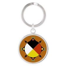 Cherokee Four Directions Keychains
