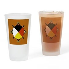 Cherokee Four Directions Drinking Glass