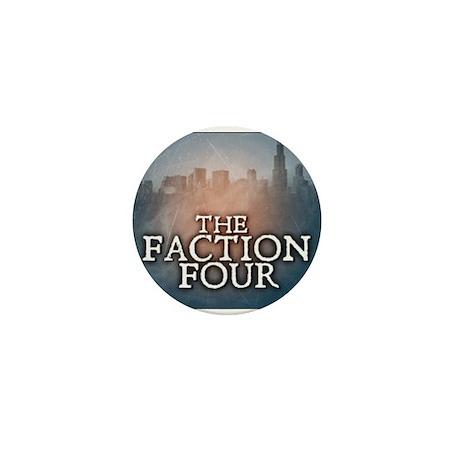 The Faction Four Logo Mini Button