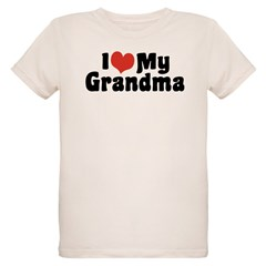 I Love My Grandma and Grandpa T-Shirt