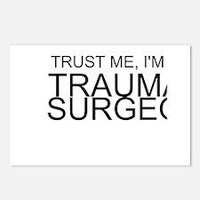 Trust Me, Im A Trauma Surgeon Postcards (Package o