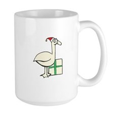 Goose with Red Hat Mug