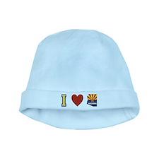 I Love Arizona baby hat