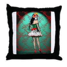 Dia De Los Muertos Stockings Pin-up Throw Pillow