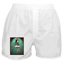 Dia De Los Muertos Stockings Pin-up Boxer Shorts