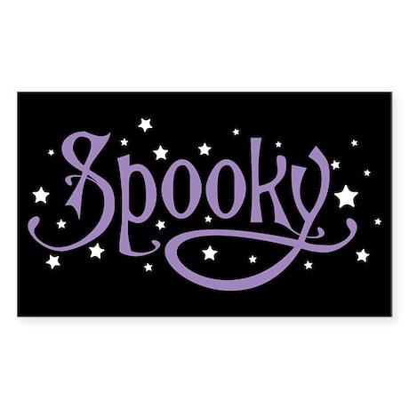 Spooky Sticker (Rectangle)
