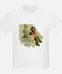 Cowgirls Rule .png T-Shirt
