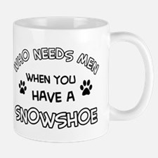 Snowshow designs for the cat lover Mug