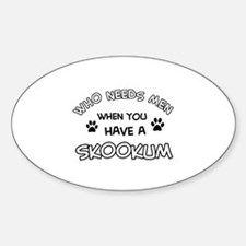 Skookum designs for the cat lover Decal