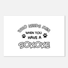 Sokoke designs for the cat lover Postcards (Packag