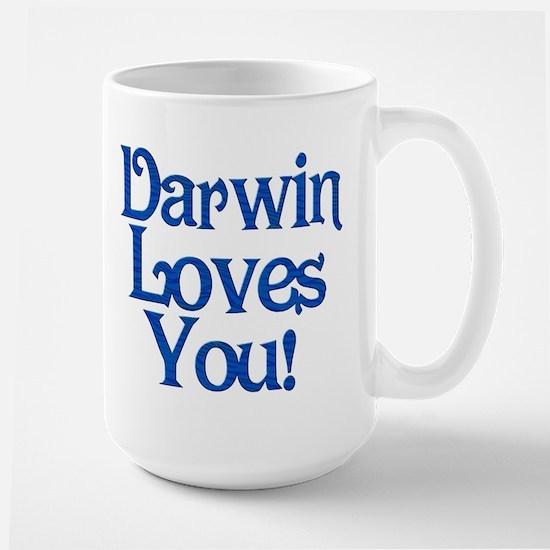Darwin Loves You Large Mug