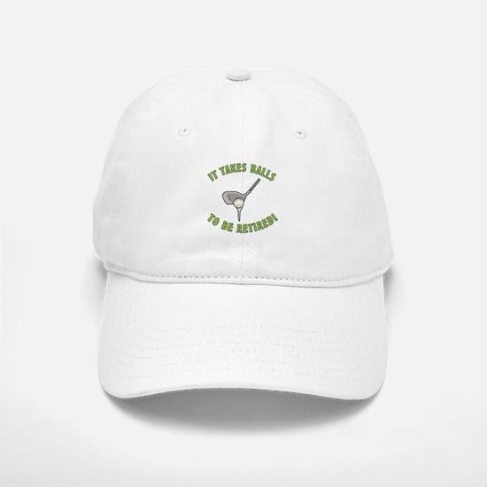 Funny Retired Golfer Baseball Baseball Cap