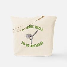 Funny Retired Golfer Tote Bag