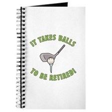Funny Retired Golfer Journal