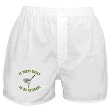Funny Retired Golfer Boxer Shorts