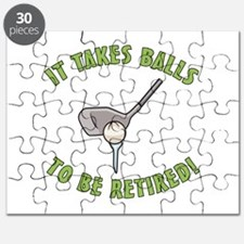 Funny Retired Golfer Puzzle