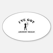 I've got Archery skills Decal